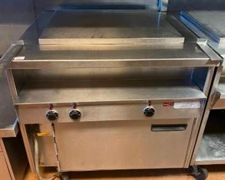"36"" Hot Food Table Randell model 31330"