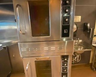 Double Convection Oven Blodgett, gas