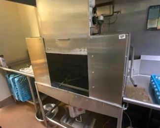 Commercial Dishwashing Station