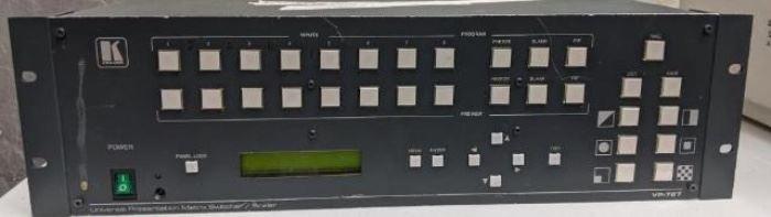 Kramer Universal Presentation Matrix Switcher/Scaler VP-727