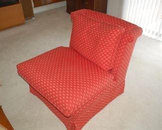 """Cushioned chair, 30"""" W x 32"""" D x 30"""" H"""