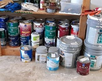 ALL GOOD PAINT FROM PINTS TO 5 GALLONS