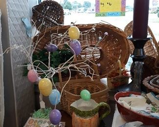Large Lot Baskets,Easter,Christmas