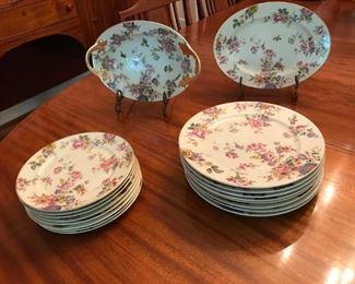 Partial set Rosenthal china