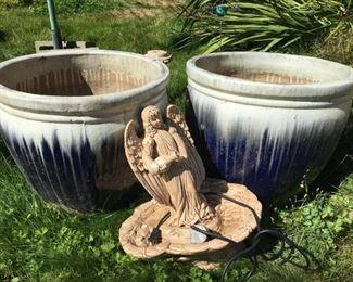 Garden Art, Large Pots