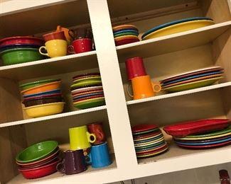 New Fiesta dinnerware.