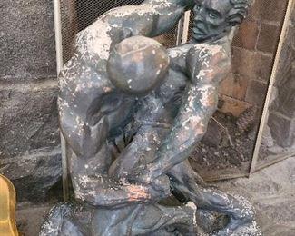 Chalkware Statue