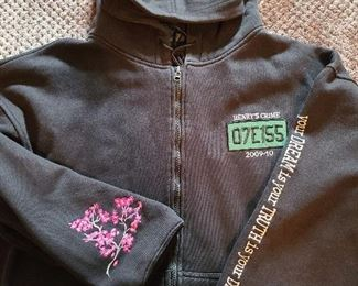 Original Henry's Crime Cast and Crew Jacket