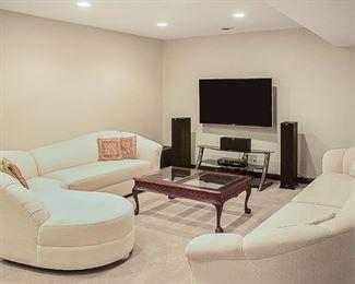 6. Family Room Sofa Set