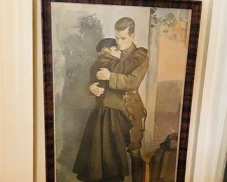 1918 WW1 framed print