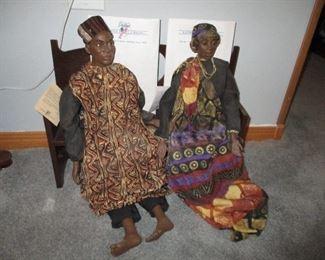 Daddy Long Legs: Amani & Kenya doll