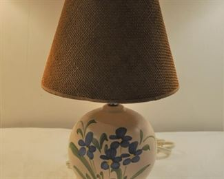 Little pottery lamp. W/ shade $20.00