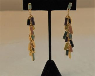 Modernist earrings. $12.00