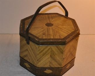 "Tin ""basket"" $14.00"