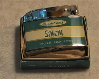 Lighter, Salem w/ box $12.00