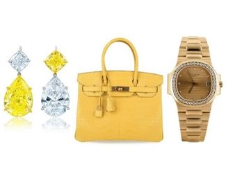 Diamonds, Purses, Watches