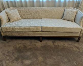 Formal cream sofa