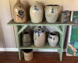 Early Salt-Glazed Jugs and Crocks