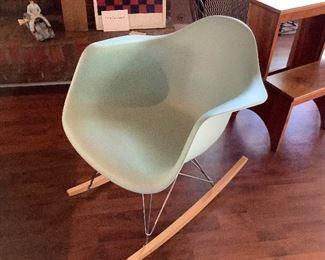 Herman Miller Eames Molded Plastic Rocker