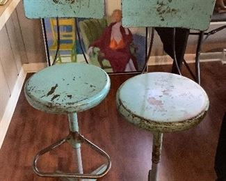 Awesome Industrial Stools