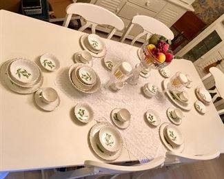 Beautiful Dinner China set.