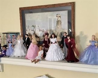 Barbies and other Collectible dolls