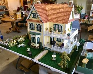 LARGE High Quality intricate Doll House and accessories.
