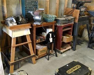 Vintage & Modern Shop tools