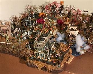 Large Halloween Dept. 56 Display