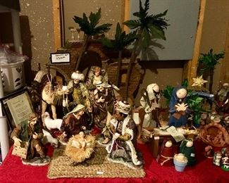 First of 2 Large Figures Nativity sets.