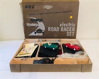 1960's Marx Sears Allstate elec. road racer set #9950