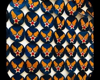 WW2 army air forces shoulder sleeve patches.