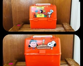 Vintage peanuts lunch box