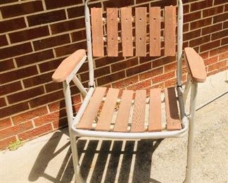Vintage outdoor chairs