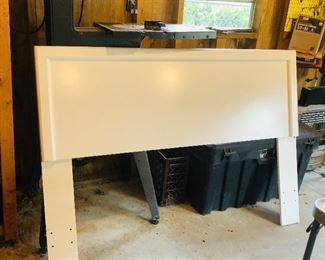 Full size head board with frame
