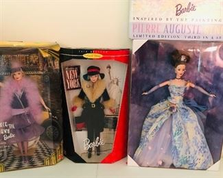 Dance til Dawn, New York and starry night Barbie's
