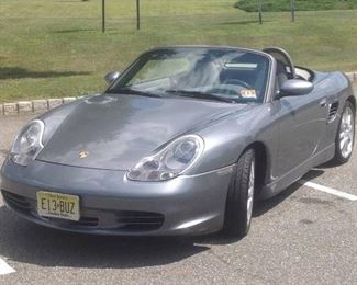 2004 Porsche Boxster S garage kept never driven in Winter. built in radar detector with tiptronic shifting. very clean,great shape convertible. grey on grey color. Am,Fm CD player. many upgrades in car. 101,005 miles *please scroll down to see all pics
