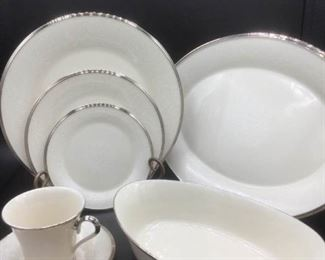 67 Piece Lenox Moonspun Set