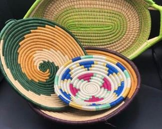 Handwoven African Baskets