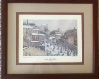 Signed and Numbered Mount Adams Incline by Warren G Stichtenoth