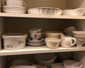 White Dish Collection