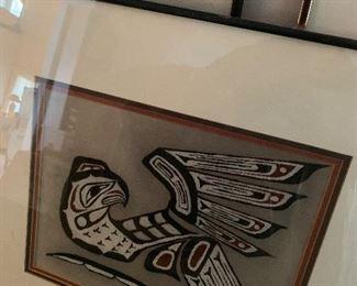 Riley Native American Sand Art