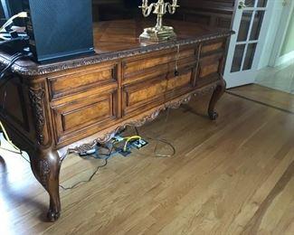 *PRESALE ITEM - Beautiful detailed Walter E Smithe desk.  $525