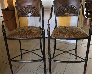 *PRESALE ITEM - Walter E Smithe matching bars stools to kitchen table stools,  $175 for the pair