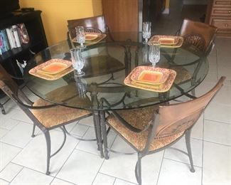 Additional view of table and chairs