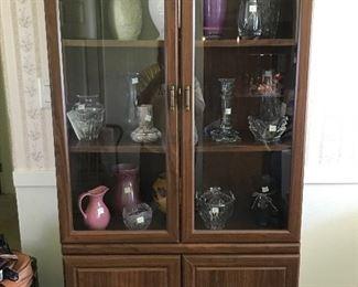 Lenox glassware and vases.