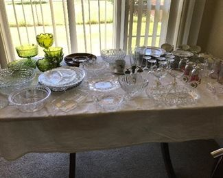 Lots of glassware