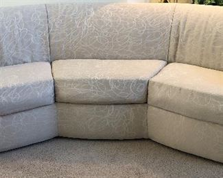 Carson's Curved Sofa
