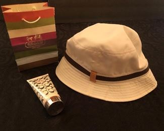 Authentic Coach Hat & Body Lotion