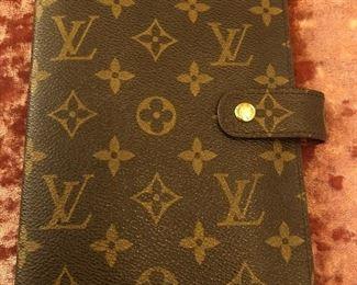 Authentic Louis Vuitton Date Book